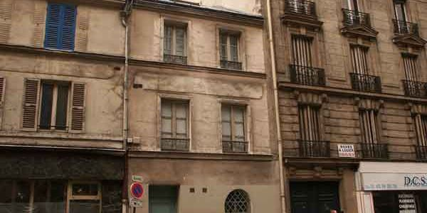 Rue Villa Croix Nivert Paris